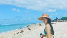 Hoa hậu Kỳ Duyên khoe dáng gợi cảm tại đảo Bali