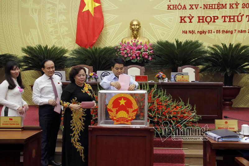 Nhân sự mới Hà Nội, Hưng Yên, Hà Tĩnh, Nghệ An