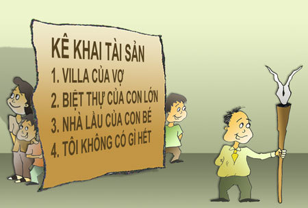 Kê khai tài sản không trung thực, Hồ Thị Kim Thoa, Phan Thị Mỹ Thanh