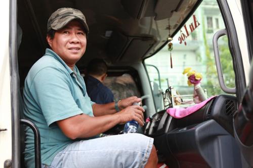 Bí quyết phòng thân của tài xế xe tải