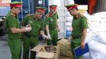 Phát hiện 600kg vẩy tê tê trong container chở nụ hoa hồng