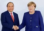 Thủ tướng hội đàm với Thủ tướng Đức Angela Merkel