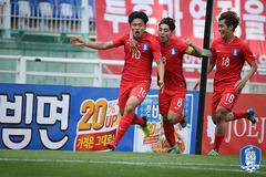 U22 Hàn Quốc gọi 7 cầu thủ K-League đấu U22 Việt Nam
