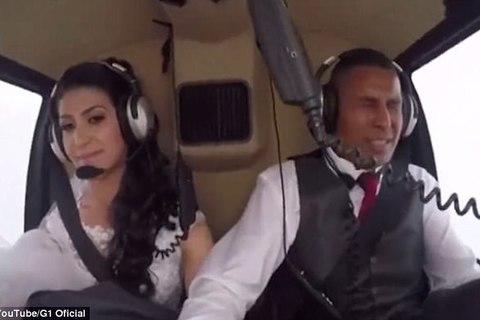 Cô dâu tử nạn khi đi trực thăng tới đám cưới