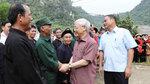 Tổng bí thư Nguyễn Phú Trọng thăm, làm việc tại tỉnh Bắc Kạn