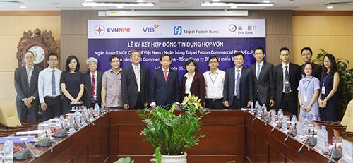 VIB cấp tín dụng hợp vốn 515 tỷ đồng cho EVN NPC