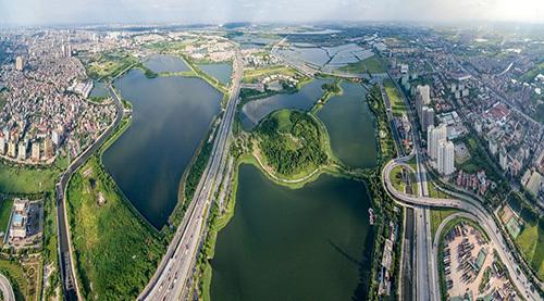 Sức hút từ cảnh quan xanh BĐS Nam Hà Nội