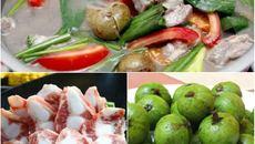 Cách làm món canh sườn nấu sấu chua dịu mát cho bữa cơm ngày hè