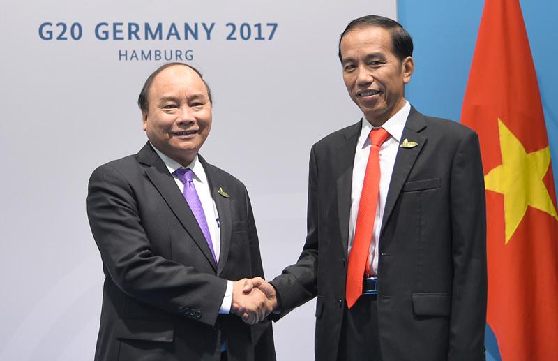 Thủ tướng Nguyễn Xuân Phúc, Nguyễn Xuân Phúc, Donald Trump, Tập Cận Bình, G20