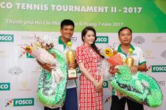 Lý Nhã Kỳ tỏa sáng rực rỡ ở giải quần vợt phong trào