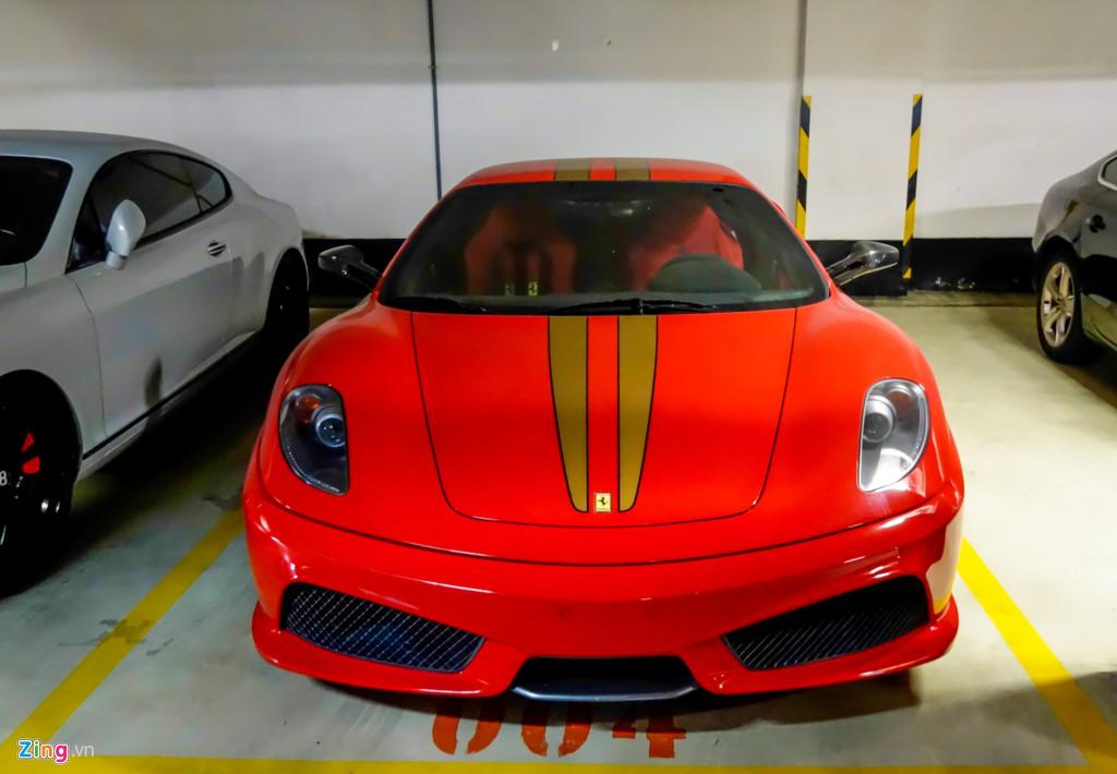 Ferrari F430 Scuderia trong vụ Dũng 'mặt sắt' xuất hiện ở Sài Gòn