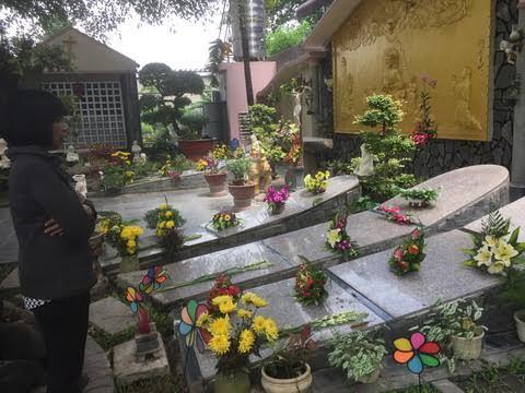 nghĩa trang,thai nhi