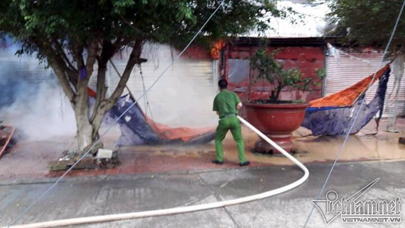 cháy chợ, hỏa hoạn, cháy chợ Tân Thanh, chợ Tân Thanh, Lạng Sơn, cháy ở Lạng Sơn, cửa khẩu Tân Thanh