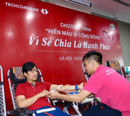 Hành trình Đỏ hiến máu tình nguyện ở Techcombank