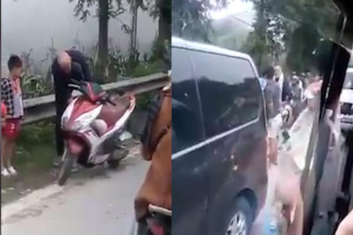 Sa Pa: 5 thanh niên lao vào đánh 1 người nước ngoài