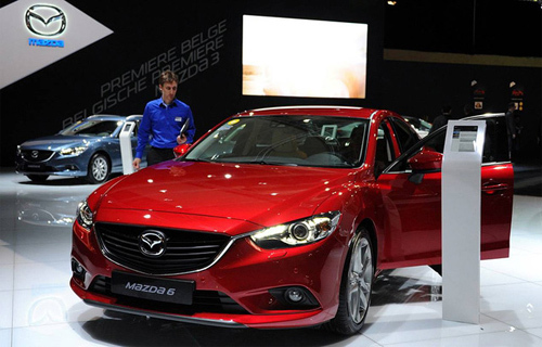 Xe Mazda3 và Mazda6 tại Việt Nam không bị lỗi phanh tay