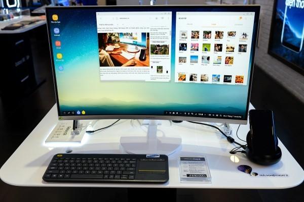 Biến Galaxy S8 thành desktop trong nháy mắt với Samsung DeX