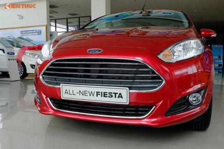 Lý do xe ô tô Ford Fiesta 'ế chỏng gọng' tại Việt Nam