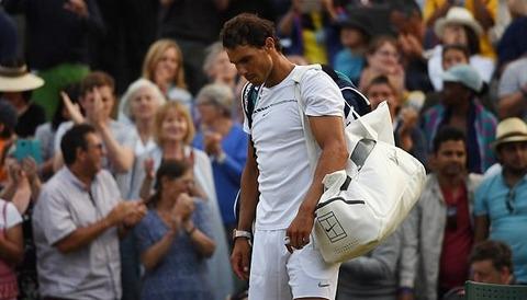 Rafael Nadal 2-3 Gilles Mueller