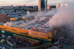 Cháy lớn tại trung tâm mua sắm Moscow