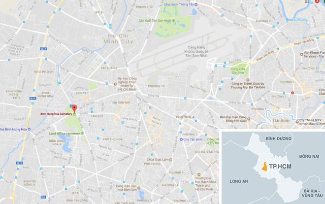 Nghĩa trang lớn nhất Sài Gòn thành khu đô thị cao cấp