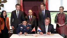 Hà Lan thỏa thuận đóng 6 tàu cảnh sát biển đa năng cho VN