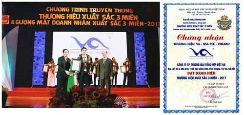 Việt An xây dựng thương hiệu bằng chất lượng và niềm tin