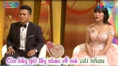 Cặp vợ chồng 'khẩu chiến' trên sóng truyền hình