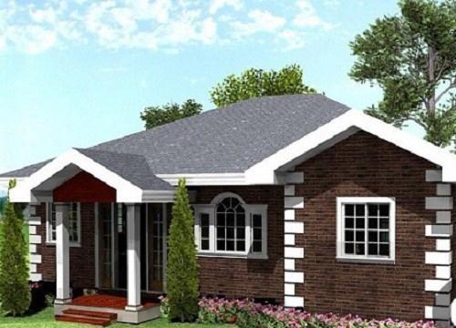 nhà đẹp, nhà cấp 4, thiết kế nhà, nội thất
