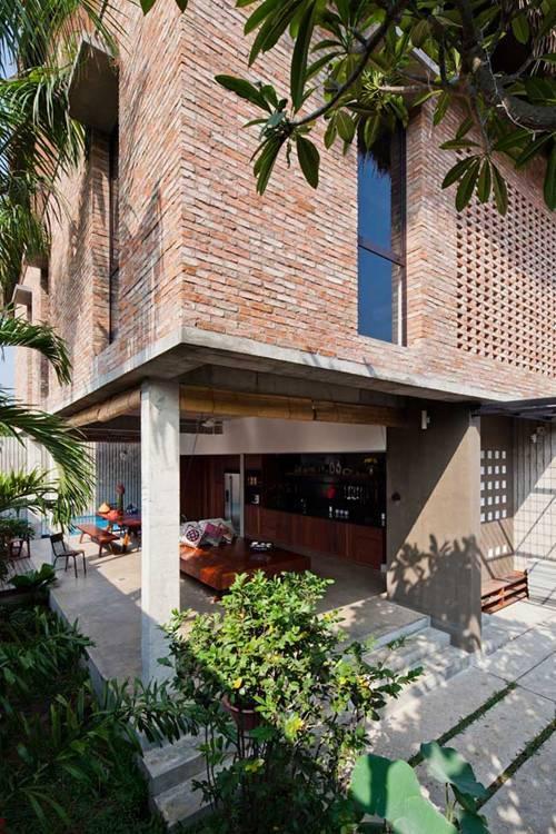 nhà đẹp, nhà đẹp Sài Gòn, nhà mái lá, thiết kế nhà