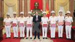 Chủ tịch nước biểu dương đại biểu điển hình của lực lượng cảnh sát