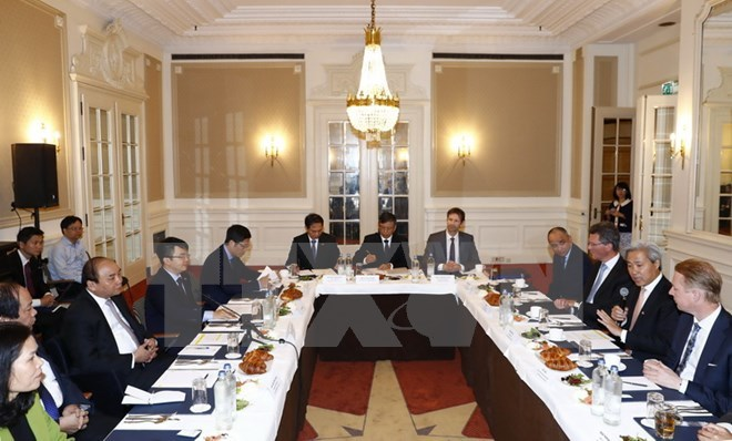Thủ tướng gặp mặt các nhà đầu tư Hà Lan