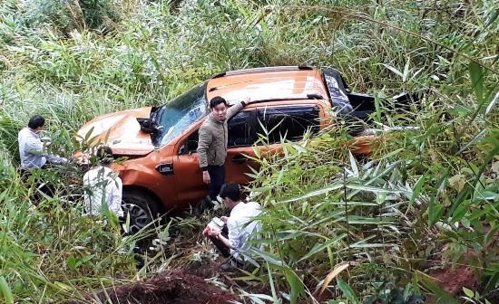 tai nạn, đèo Prenn, Đà Lạt, xe bán tải