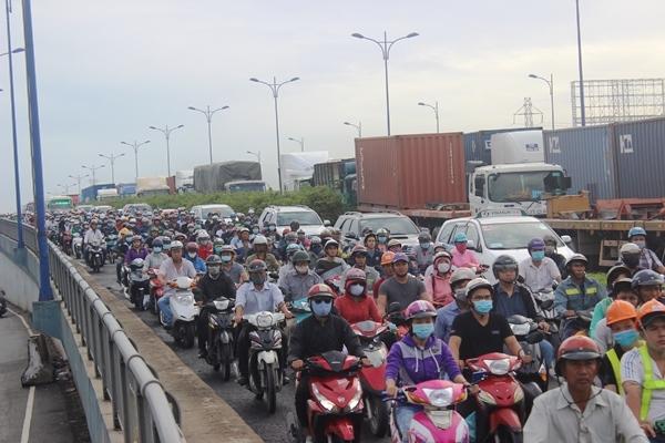 cảng Cát Lái, kẹt xe, ùn tắc, Bí thư TP.HCM Nguyễn Thiện Nhân