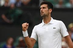 Novak Djokovic nhẹ nhàng bay vào tứ kết Wimbledon