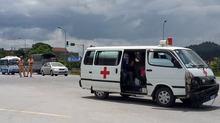Sau va chạm, tài xế cứu thương truy sát đồng nghiệp