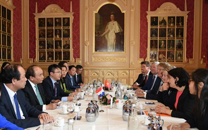 Thủ tướng Nguyễn Xuân Phúc, Nguyễn Xuân Phúc, Thủ tướng thăm Hà Lan, Hà Lan