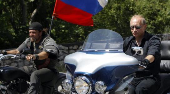 Chiếc mô-tô 'bí mật' của Tổng thống Nga Vladimir Putin