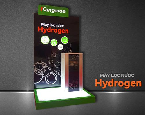 Cháy kho hàng máy lọc nước Hydrogen Kangaroo