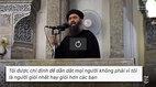 Chân dung thủ lĩnh tối cao IS vừa bị tiêu diệt