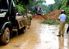 Đã có 14 người chết và mất tích vì mưa lũ, sạt lở đất