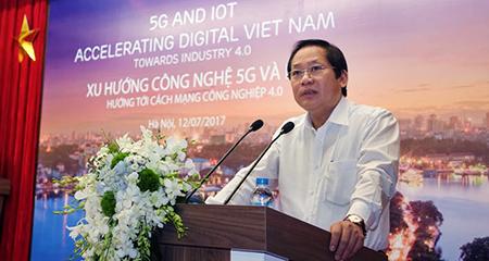 VN phấn đấu nằm trong tốp các nước đi đầu trong triển khai 5G