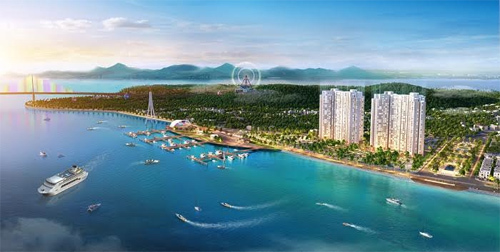 Thành phố lam ngọc bên Vịnh Thiên Đường