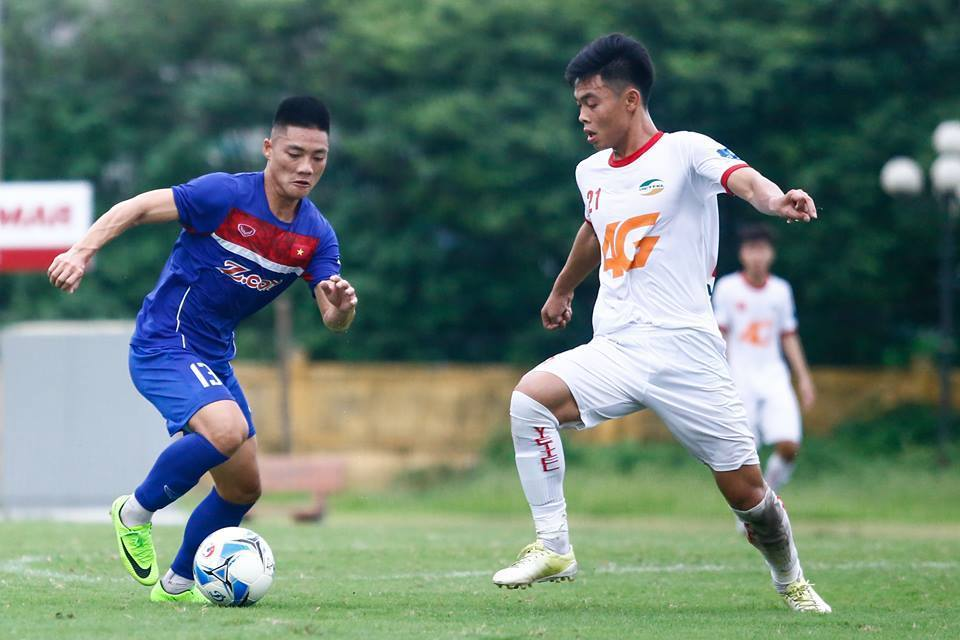 U22 Việt Nam,HLV Hữu Thắng,Công Phượng,Đức Chinh