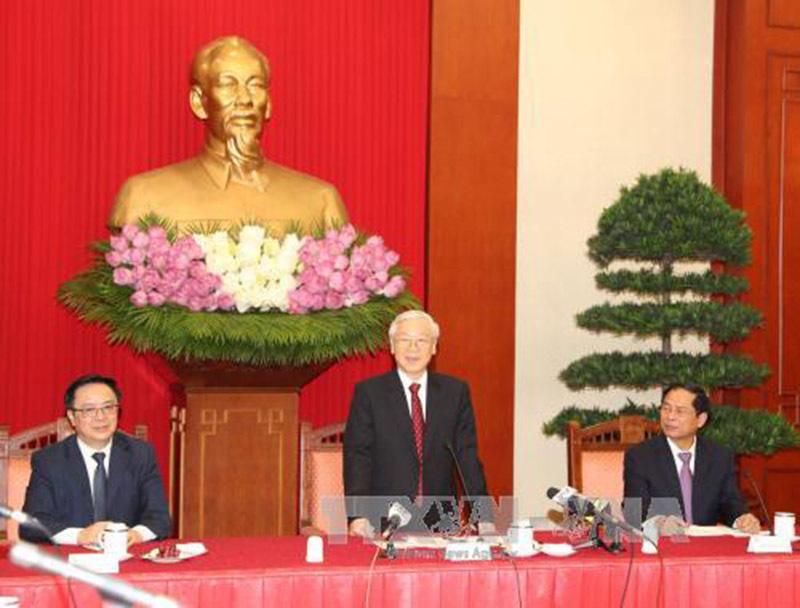 Tổng bí thư gặp mặt các Trưởng cơ quan đại diện VN ở nước ngoài