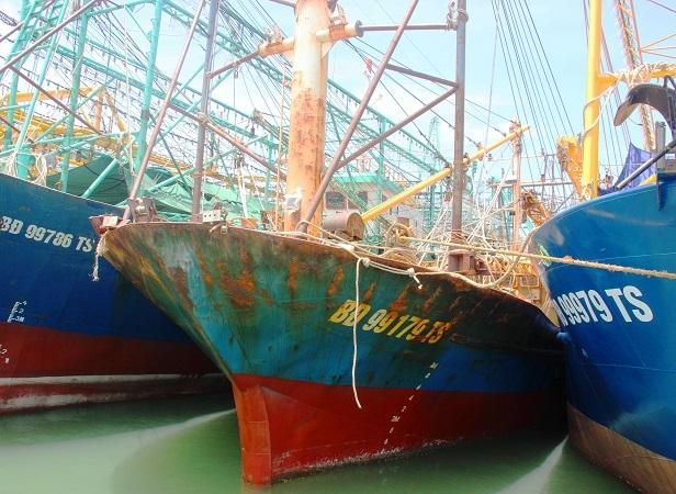 Phó Thủ tướng, Trịnh Đình Dũng, tàu vỏ thép, tàu rỉ sét, tàu cá