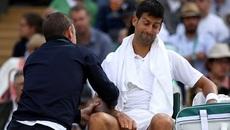 """Djokovic """"biếu"""" vé bán kết cho Tomas Berdych"""