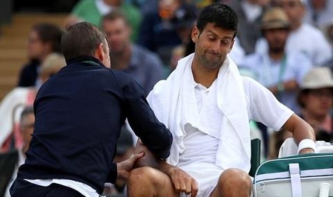 Novak Djokovic 0-2 Tomas Berdych