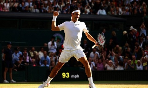 Roger Federer 3-0 Milos Raonic