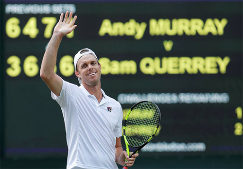 Murray vs Querrey, Wimbledon 2017